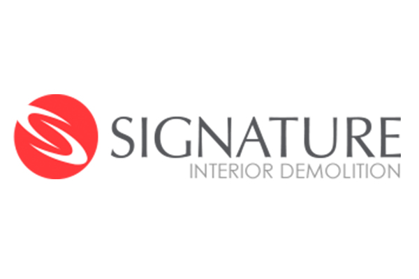 Signature demolition Sponsor